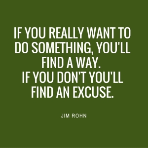 If you really want to do something...