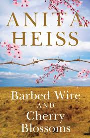 barbed wire, cherry blossoms